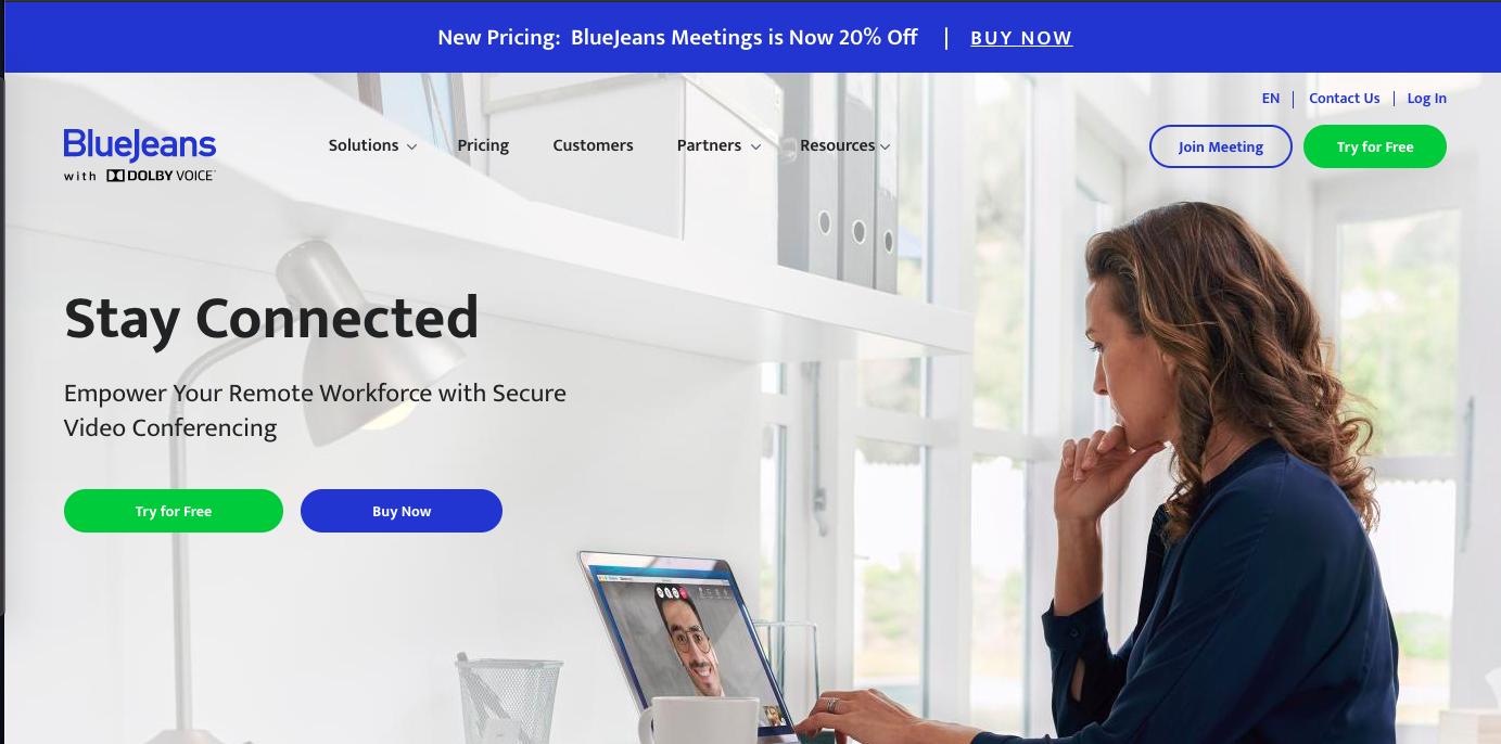 TV会議・web会議・オンライン面接システムの画像