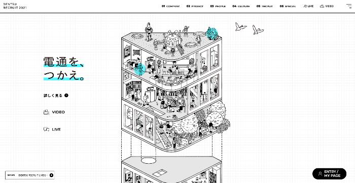 採用サイト キャッチコピー コンセプト 画像